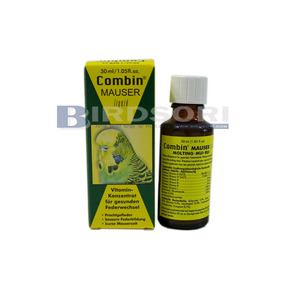 Quiko컴바인 몰팅 리퀴드 30ml(Combin Mauser Liquid 30ml)-털갈이시영양제-유통기한 2018.05
