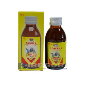 Quiko컴벡스 V 리퀴드 125ml(Combex V Liquid 125ml)-기생충에의한질병,질병을방지하는비타민함유,멀티비타민/영양제-유통기한 2017.10