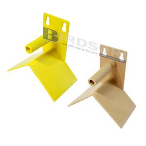 Quiko날림장 배설물 받이 횃대-핀치 & 소형앵무용-옵션에서 색상을 선택해 주세요.