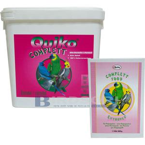 Quiko Complett앵무용 펠렛(800g/3kg)parrots & cockatiels-중대형 앵무용-유통기한 2017.11